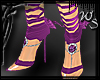 Lilac Ribboned Heels