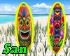 RADIO SURFBOARD TIKI