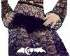 Purple Lace long skirt