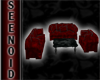 *SN* Red Couch Set