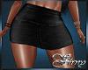 [S] Mini Skirt Blk