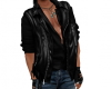 Leather Vest and Shirt