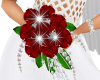 SE-Red Rose Bridal Bouqu