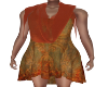Cascade Scarf Dress