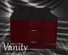 Red Kitchen Cabinet 2