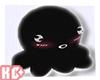 Ko ll Octopus Black Cute