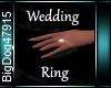 [BD]WeddingRing