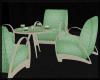 Table / Chairs Green Tea