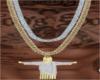 Jesus 2tone Chain