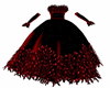 Red Feather Gown