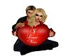 Valentines Heart Pose 2