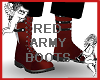RED ARMY BOOTS