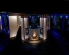 Blue Lotus Fireplace