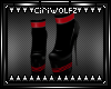[CW] Red Striped Boots