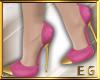 EG- shoes pink gold