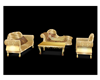 Royal golden Couch