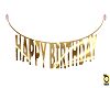 .(IH) BIRTHDAY BANNER