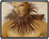 Lion : Collar Fur Brown