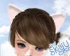 ❤ White Neko Ears