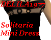 Solitaria MiniDress-Blk