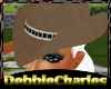 [DC] COWGIRL HAT BROWN