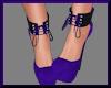 Bella Pumps PurpleBlack