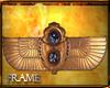 <E>EGYPTIAN WINGS WALL