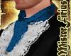 Flamenco Tie Blue