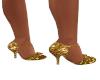 Gold Dance Shoes