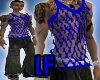 [LF] Blu String Vest