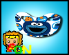 Cookie Monster Paci