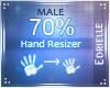 E~ Hand Resizer 70%
