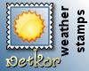 Weather Stamp Sun