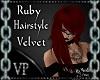 Ruby Velvet Hair