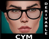 Cym Retro Glasses Derv