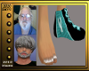 (V)Manwith1TealShoe