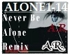 Never Be Alone, Remix