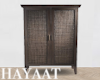 Modern Caned Cabinet