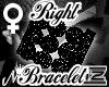BLACK DIAMODN BRACELET R