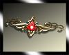 red celtic crown