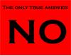 No-red sticker