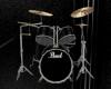 Black Drumset-Animated