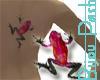 Red&Black Crawling Frog