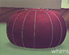 Holiday Snow Pouf