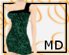 Spotted Green Dress {MD}