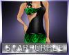 *Green Loepard Dress