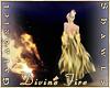 Divine Fire Shawl