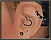 !CF Black Earring