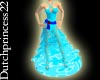 ~DP22~Teal gown
