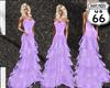 SD Lavendar Ruffle Gown